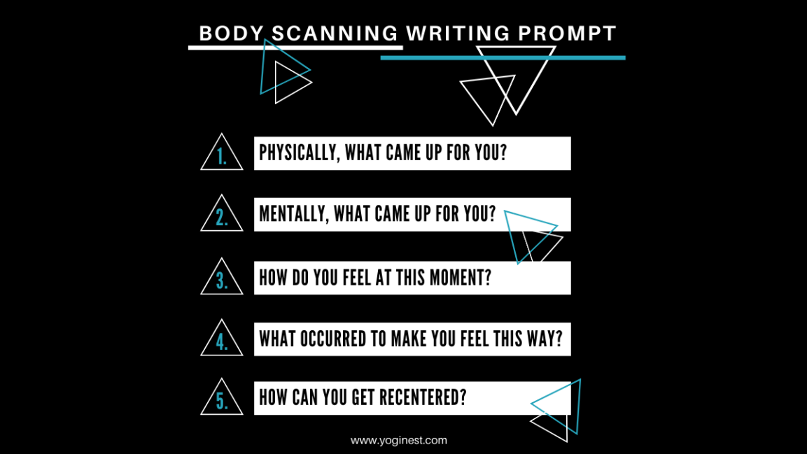 Body Scanning Writing Prompt