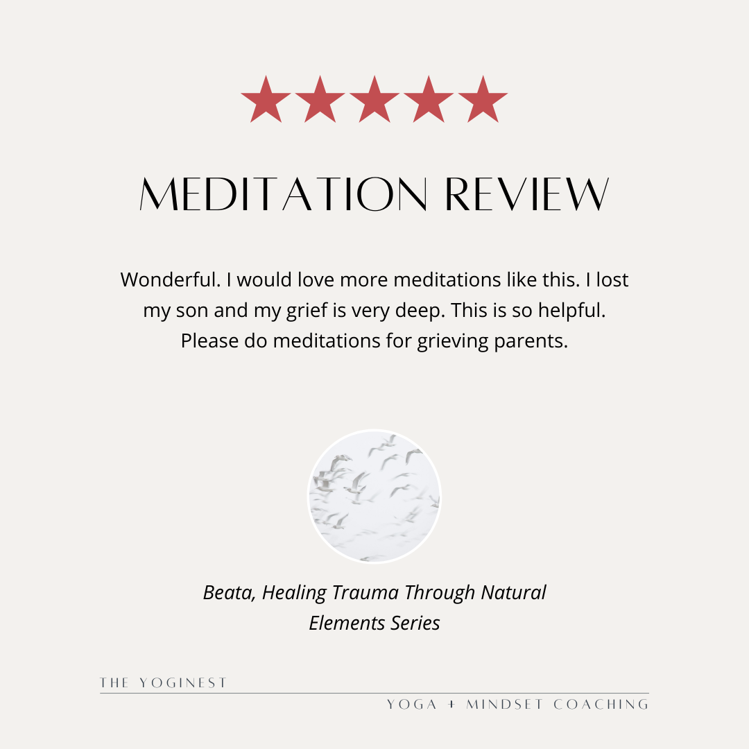 Guided Meditation For Grief & Trauma – Testimonial